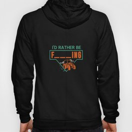 I'd Rather Be Farming Traktor Design für Hobby Farmer design Hoody