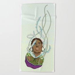 Jelly Miss  Beach Towel