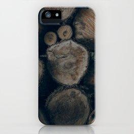 Firewood (Horizontal) iPhone Case