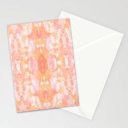 Sycamore kaleidoscope - Sherbert blush Stationery Cards