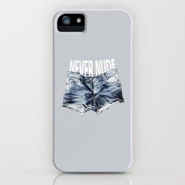 Never Nude Tobias Funke iPhone Case