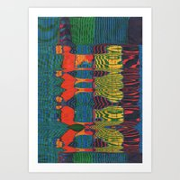 acid Art Prints featuring Acid by Rocovich