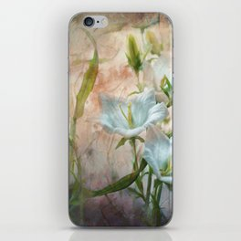 Campanula on the wild side iPhone Skin