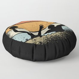 Water Polo Design Floor Pillow