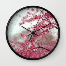 Cherry Lover / Sakura / Japanese cherry blossom / Cherry Blossom Wall Clock