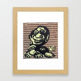 SlapHappy Framed Art Print