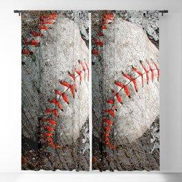 Baseball art Blackout Curtain
