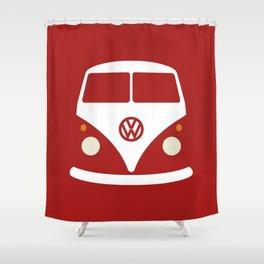 Volkswagen Split Bus Shower Curtain
