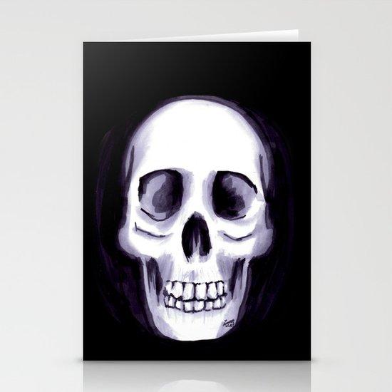 Bones V Stationery Cards