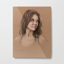 Kate Metal Print