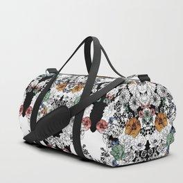 Simple Flowers Duffle Bag