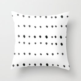 Modern boho dot Throw Pillow