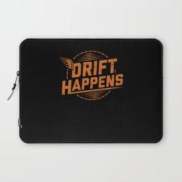 Drift Happens | Car Tuning Gift Idea Laptop Sleeve
