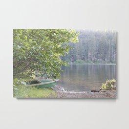 Guarding the Lake pt. 1 Metal Print