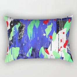 His Majesty the Glitch 4 Rectangular Pillow