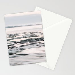 Beach life | pastel sunset | soft colored fine art photography Stationery Cards