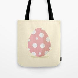 Easter egg with poke dots Tote Bag