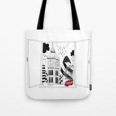 London window Tote Bag