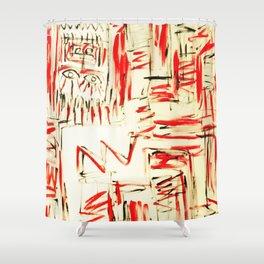 l'esprit de feu by Johnny Otto Shower Curtain
