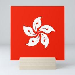Flag of hong kong Mini Art Print