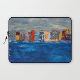 City Near The Sea Laptop Sleeve