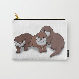 Romp of Baby Otters Carry-All Pouch