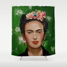 Frida Kahlo Print Shower Curtain