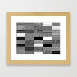 Order Emerging from Chaos or The Joy of Random Boolean Networks 2. Framed Art Print