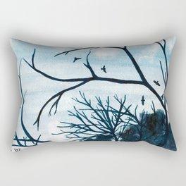 Circling High Rectangular Pillow