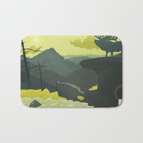 The Abandoned Frontier Bath Mat