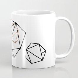 Abelie (Black & gold) Coffee Mug