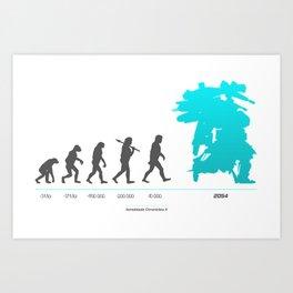 Xenoblade Chronicles X - Theory of Evolution Art Print