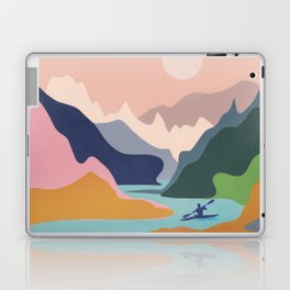 River Canyon Kayaking Laptop & iPad Skin