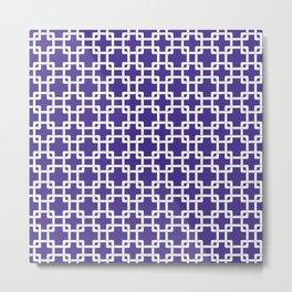 Purple Plummer Metal Print