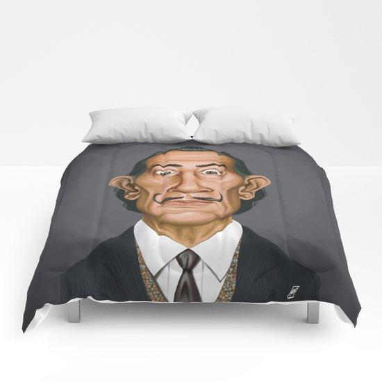 Celebrity Sunday ~ Salvador Dali Comforters