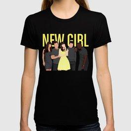 New Girl tv show T-shirt