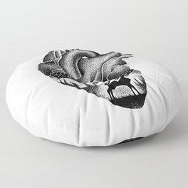 WILD HEART Floor Pillow