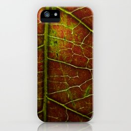 Autumn texture iPhone Case