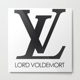 lord voldemort louis vitton Metal Print