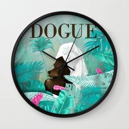 Dogue - Spring Wall Clock