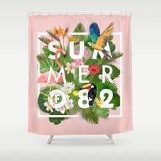 SUMMER of 82 Shower Curtain