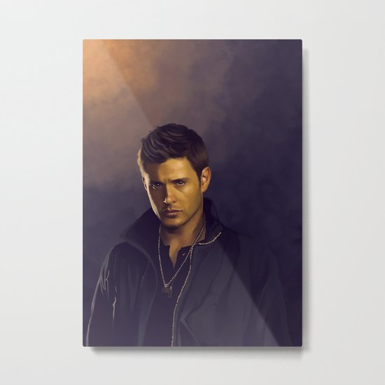 Dean Winchester - Supernatural Metal Print