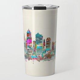 kansas city Missouri skyline Travel Mug