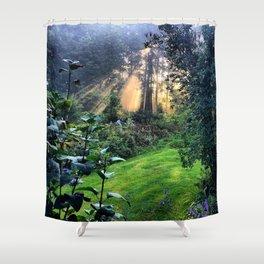 Magic Morning Sunlight Shower Curtain