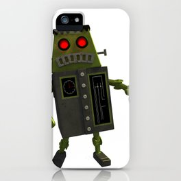 Frankbot iPhone Case