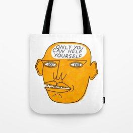 TALKING HEAD 3 Tote Bag