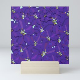 Larkspur Love Mini Art Print