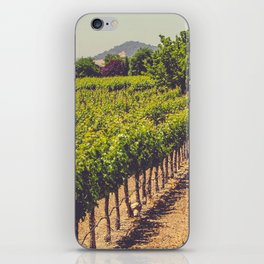 Vineyards 3 iPhone Skin