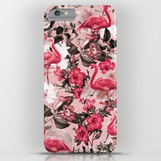 Floral and Flemingo III Pattern Slim Case iPhone 6s Plus