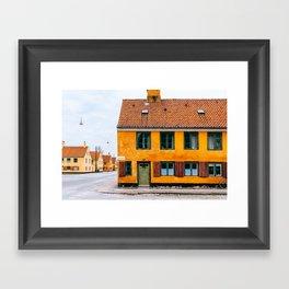 Copenhagen, Denmark - #1 Framed Art Print